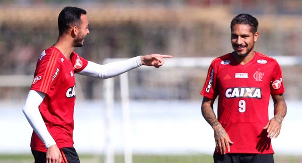 """Paolo Guerrero: jugadores de Flamengo esperan que no se vaya porque """"es una referencia"""". (Flamengo)"""