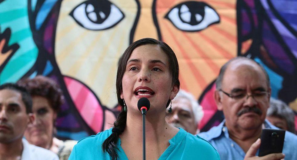 Verónika Mendoza afirma que la ayuda permitirá que la cuarentena sea efectiva. (Foto: GEC)