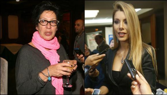 'El gran show': Viviana Rivasplata increpó a Michelle Alexander por su preferencia con Andrea Luna. (Créditos: USI)
