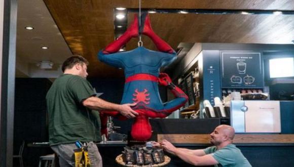 'Spider-Man' apareció en una cafetería y sorprendió a los clientes (Marvel)