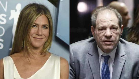 """Harvey Weinstein dijo que """"alguien debería matar a Jennifer Aniston"""" y además, solicitó ayuda a diversas personalidades y empresarios para que lo ayuden (Foto: AFP)"""