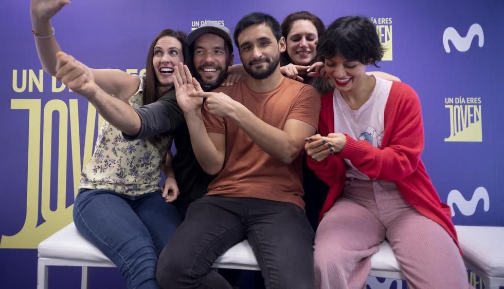 """""""Un día eres joven"""", serie original peruana, estrena este viernes en diversos países de Latinoamérica. (Foto: GEC)"""
