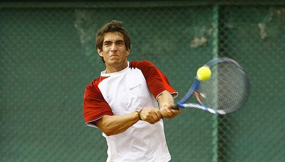 Mauricio Echazú le dio el primer punto a Perú. (USI)