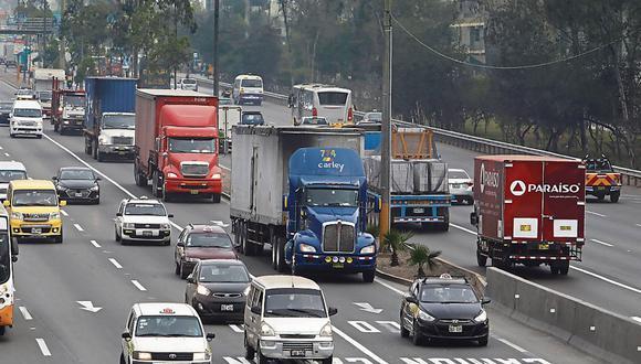 La Municipalidad de Lima inició el 'pico y placa' para camiones el 4 de noviembre con una marcha blanca, pero luego la amplió hasta el 15 de enero del 2020. (Foto: GEC | Piko Tamashiro)