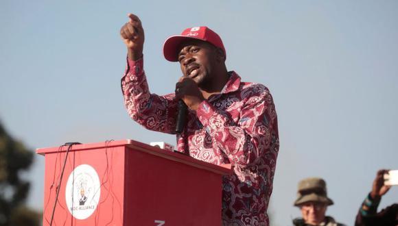 El líder del principal partido de la oposición de Zimbabue Movimiento por el Cambio Democrático (MDC), Nelson Chamisa. (Foto: EFE)