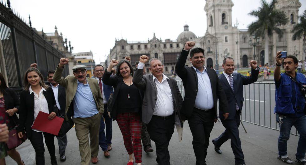 La bancada del Frente Amplio indicó que el acuerdo que han tomado es que no acudirán al Pleno programado para este jueves. (Foto: GEC)