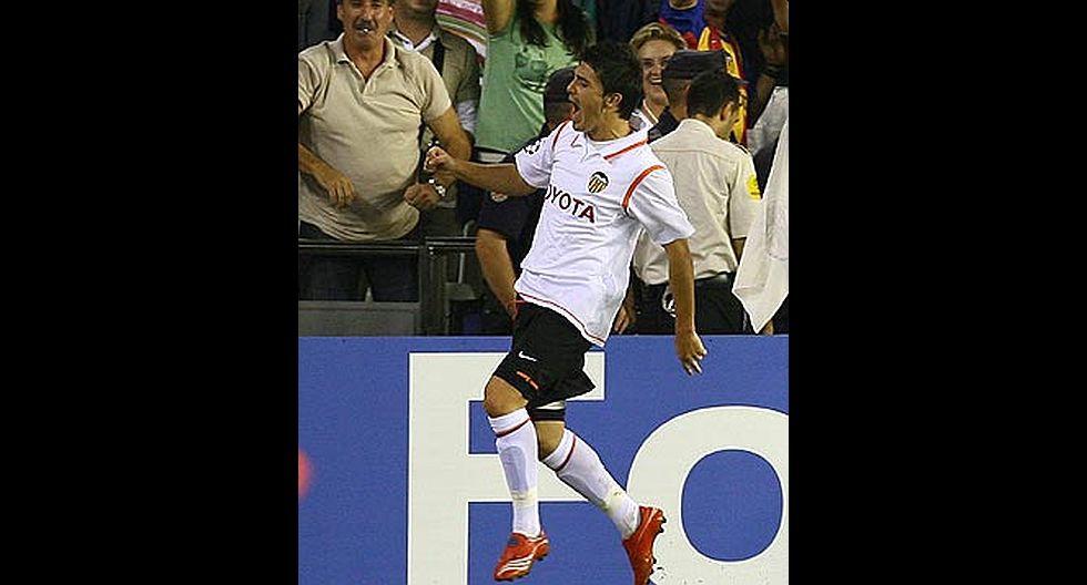 17.- David Villa (Valencia CF), en 37.7 millones de dólares. (Foto: Agencias)