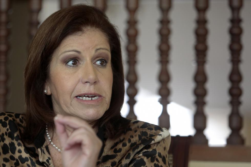 Lourdes Flores espera que Richard Concepción Carhuancho rechace la solicitud de prisión preventiva contra Keiko Fujimori. (Foto: USI)