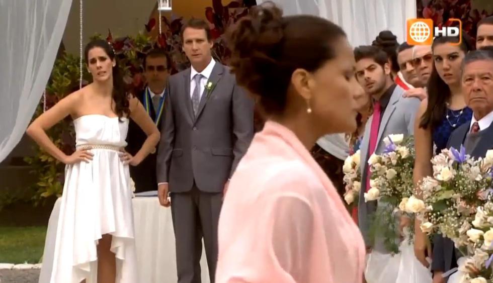 Todas las bodas frustradas de 'Al fondo hay sitio'. (Captura de YouTube)