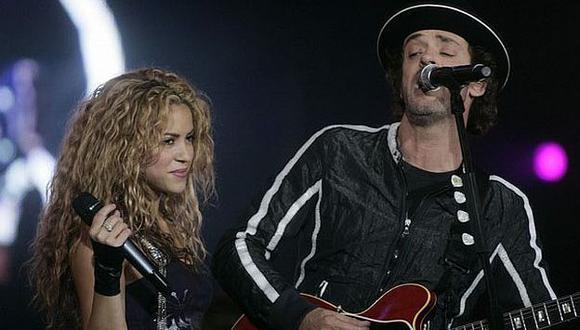 Shakira dedicó emotivas palabras a Gustavo Cerati. (Internet)