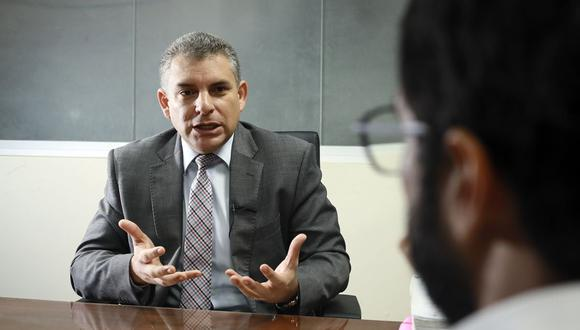 Fiscal Rafael Vela es líder del equipo especial Lava Jato. (Foto: Juan Ponce/ GEC)