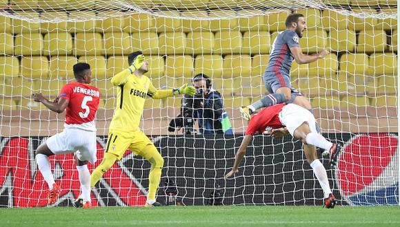 Con esta derrota , Mónaco permanece en el fondo del Grupo G. (Getty Images)