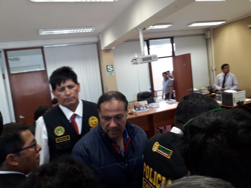 La Fiscalía pide 36 meses de prisión preventiva para los detenidos. (LINO MAMANI)