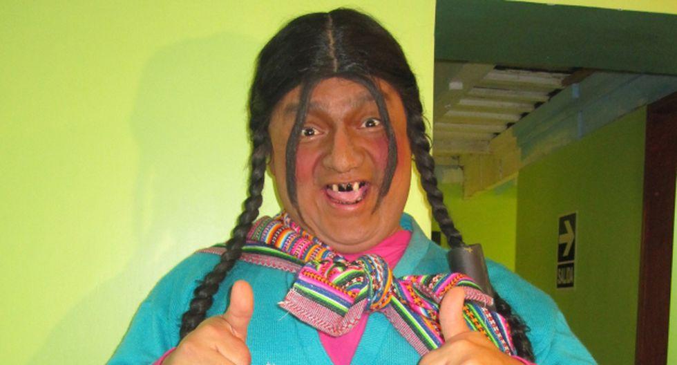 Personaje es calificado como racista por parte de Hilaria Supa. (USI)