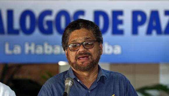 """""""Incurrimos en varios errores, como el de pactar la dejación de armas"""" dijo Iván Márquez. (Foto: EFE)"""