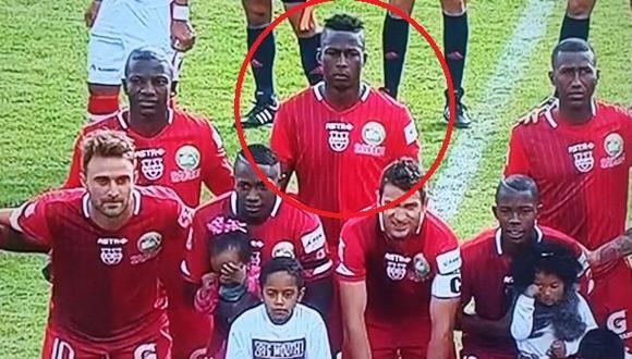 'Max Barrios' debutó en la Copa Sudamericana 2015. (Captura Vine)