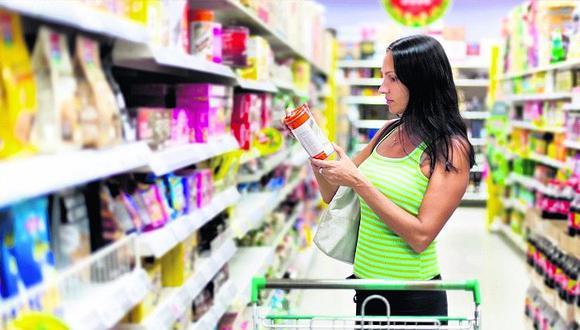 Proyecto de ley plantea un nuevo etiquetado a productos procesados con el país de procedencia. (Foto: GEC)