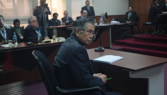 EN SUS TRECE. Fujimori mantiene su decisión de no pedir indulto. (Martín Pauca)