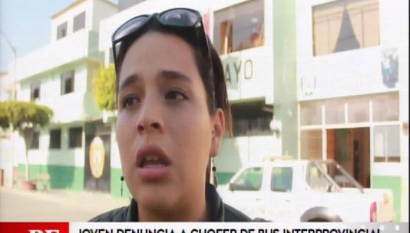 Joven denuncia a conductor de bus de Civa por tocamientos indebidos.