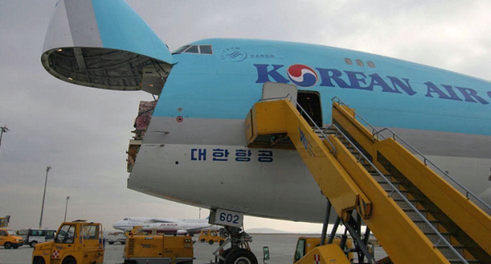 La aeronave de carga que realizará la ruta es un Boeing 747-400F. (Internet)
