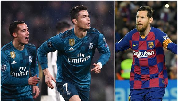 Lucas Vázquez no supo elegir entre Cristiano Ronaldo o Lionel Messi como el mejor jugador del mundo. (Foto: AFP)