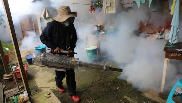 El Gobierno declaró emergencia sanitaria en 15 regiones del Perú por brote de dengue. (Foto: Minsa)