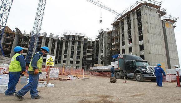 La construcción mantuvo su ágil ritmo del mes previo, al crecer un 14,7%. (USI)