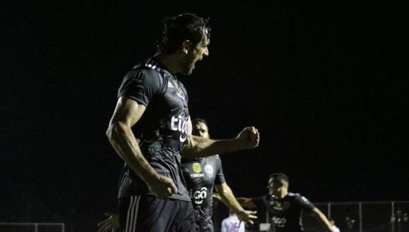 Olimpia y Santaní chocan por fecha 18 del Torneo Clausura de Paraguay. (Foto: Olimpia)