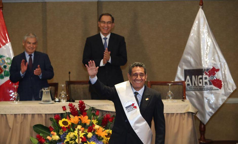 Presidente Vizcarra asistió a ceremonia de la Asamblea de Gobernadores Regionales. (Foto: Rolly Reyna)