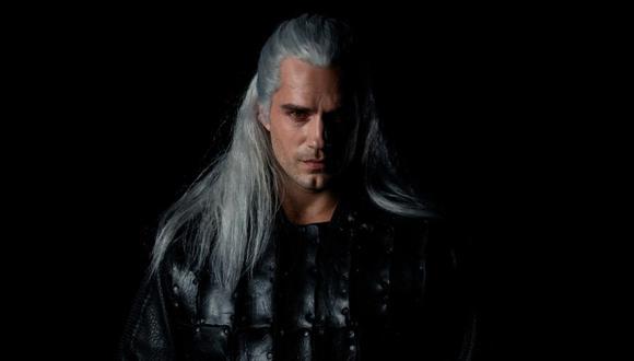 Así luce el actor Henry Cavill interpretando a 'Geralt de Rivia'. (Foto: Netflix)