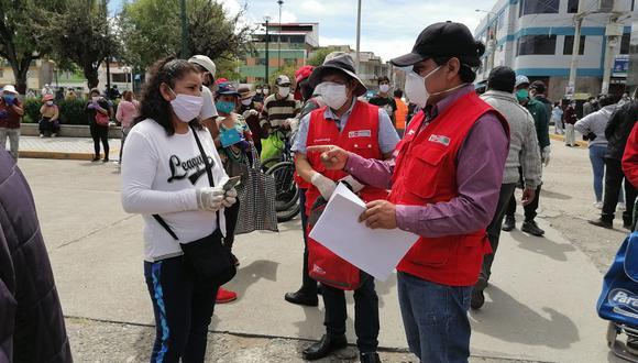 Huancayo registra más de tres mil personas que no han cobrado este subsidio