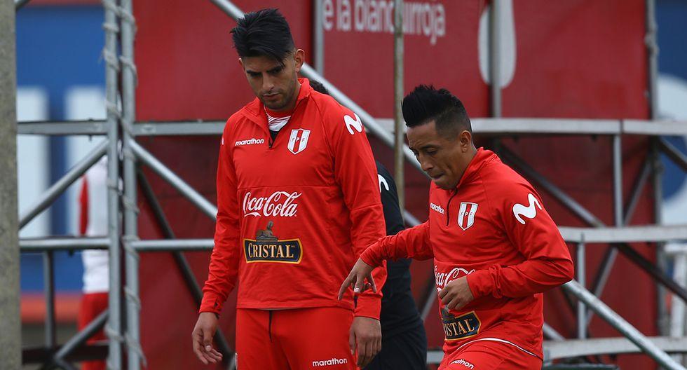 Christian Cueva y Carlos Zambrano destacaron en la Copa América 2019 con la selección peruana. (Foto: GEC)