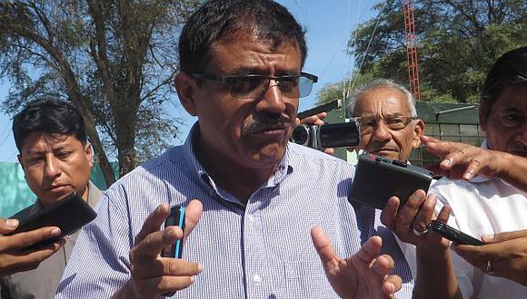 Alcalde Juan Cieza es víctima de extorsión. (USI)