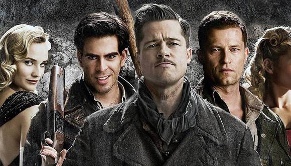 <i>Bastardos sin gloria</i> fue escrita y dirigida por Quentin Tarantino y protagonizada por Brad Pitt, Christoph Waltz y Mélanie Laurent (Foto: Universal Pictures)