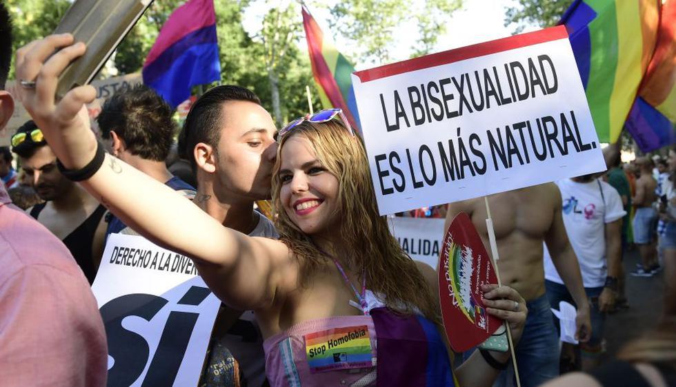 Marcha del Orgullo LGTBI en España. (AFP)