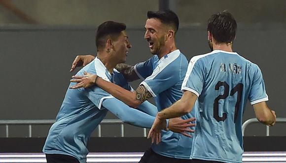 Uruguay visita a Hungría buscando prolongar su racha de partidos sin perder. (Foto: AFP)