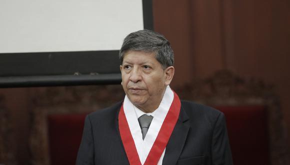 El fallecido magistrado Carlos Ramos Núñez integró el máximo órgano sobre temas constitucionales desde el año 2014, tras ser elegido por el Congreso de la República. (Foto: GEC)
