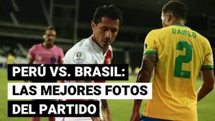 Brasil vs. Perú: las mejores fotos del debut de la selección peruana