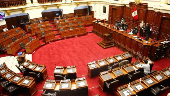 En la sesión de este jueves 4 de febrero, el Pleno del Congreso ratificó la eliminación de la inmunidad parlamentaria. (Foto: Congreso)