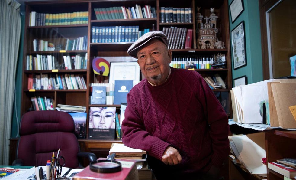 """Domingo Tamariz: """"Antes el periodista era más culto y entretenido"""". (José Rojas(GEC)"""