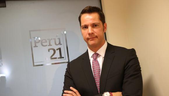 NUEVO DIRECTOR. Juan José Garrido Koechlin asume en octubre. (Luis Gonzales)