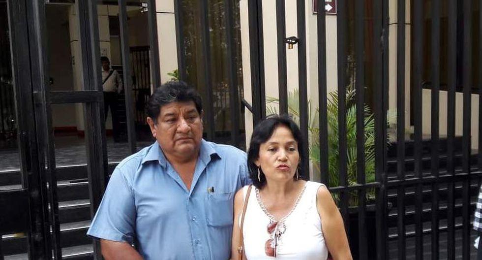Familiares piden pronta liberación de suboficial Elvis Miranda. (Johnny Obregón)