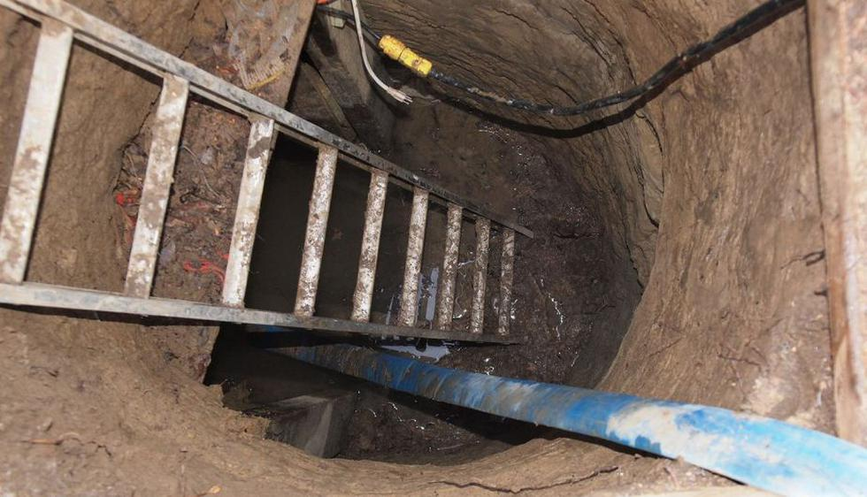 El túnel fue descubierto en enero, pero recién se conoció la noticia el lunes. (EFE)