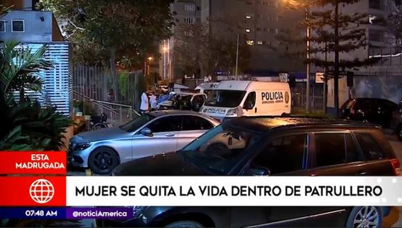 El hecho ocurrió el pasado sábado en Miraflores. (América Noticias)