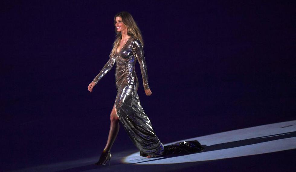 Gisele Bündchen embelleció aún más la inauguración de Río 2016. [AFP]