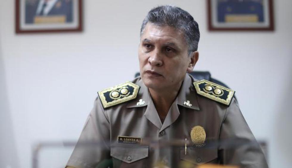 General PNP Héctor Loayza Arrieta. (Geraldo Caso/Perú 21)