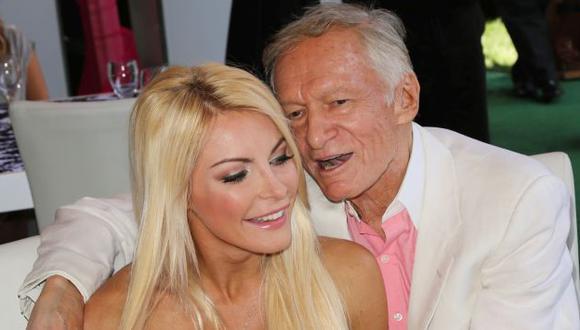 Así fue como la viuda de Hugh Hefner puso en duda su desempeño sexual con una escandalosa confesión (Getty Images)