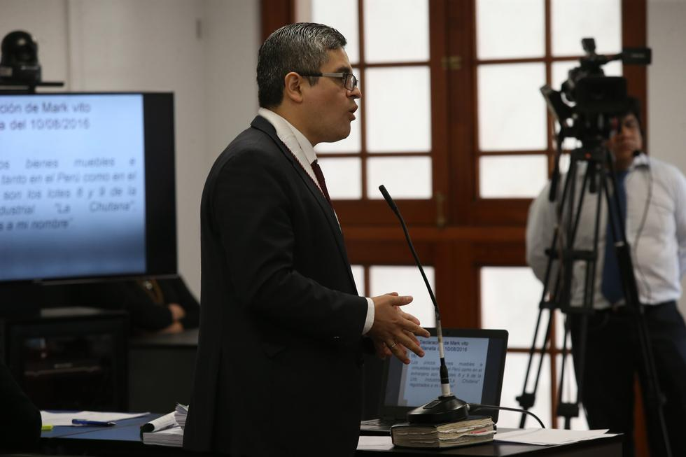 José Domingo Pérez señaló que el personal policial y peritos deberán determinar si es que hubo algún tipo de vulneración a las medidas de seguridad que instalaron luego del primer allanamiento.(GEC)