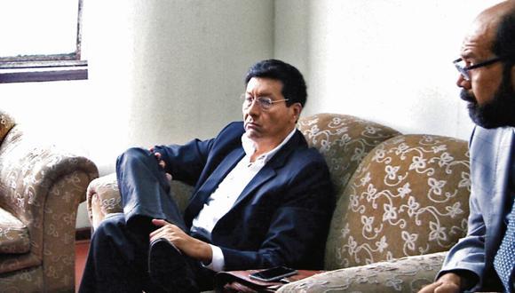 Contra las cuerdas. El exministro Paredes declaró ayer en la Fiscalía y negó pago de coimas. (Fiscalía)