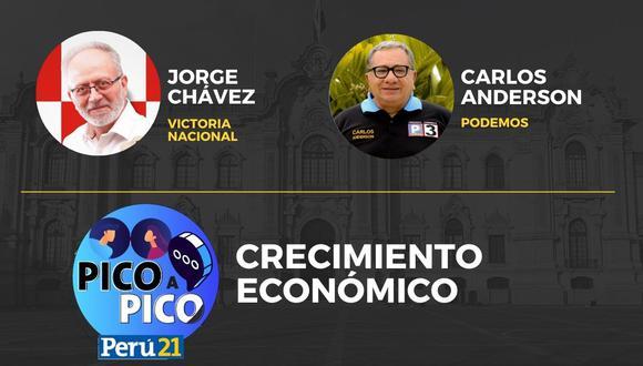 Jorge Chávez vs. Carlos Anderson